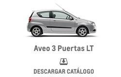 Catálogo Chevrolet Aveo 3 Puertas