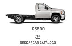 Catálogo Chevrolet C-3500