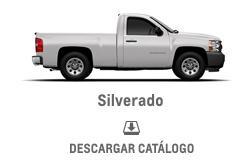 Catálogo Chevrolet Silverado Cabina Sencilla