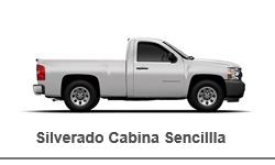 Chevrolet Silverado Cabina Sencilla