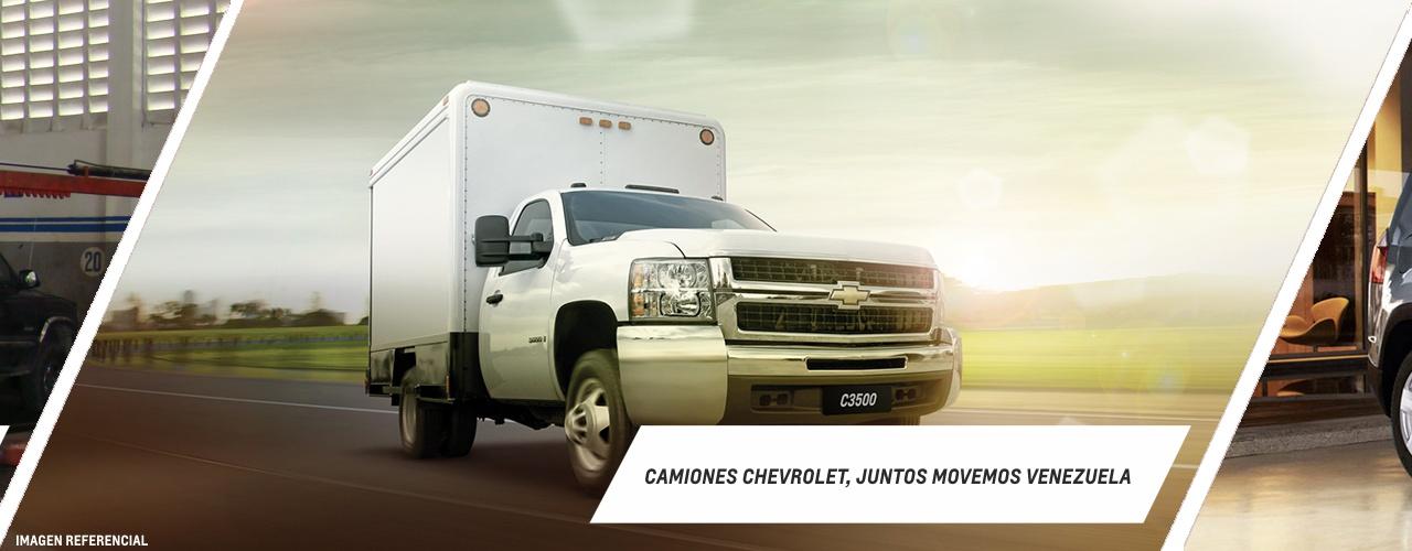 Camiones Chevrolet, Juntos movemos a Venezuela