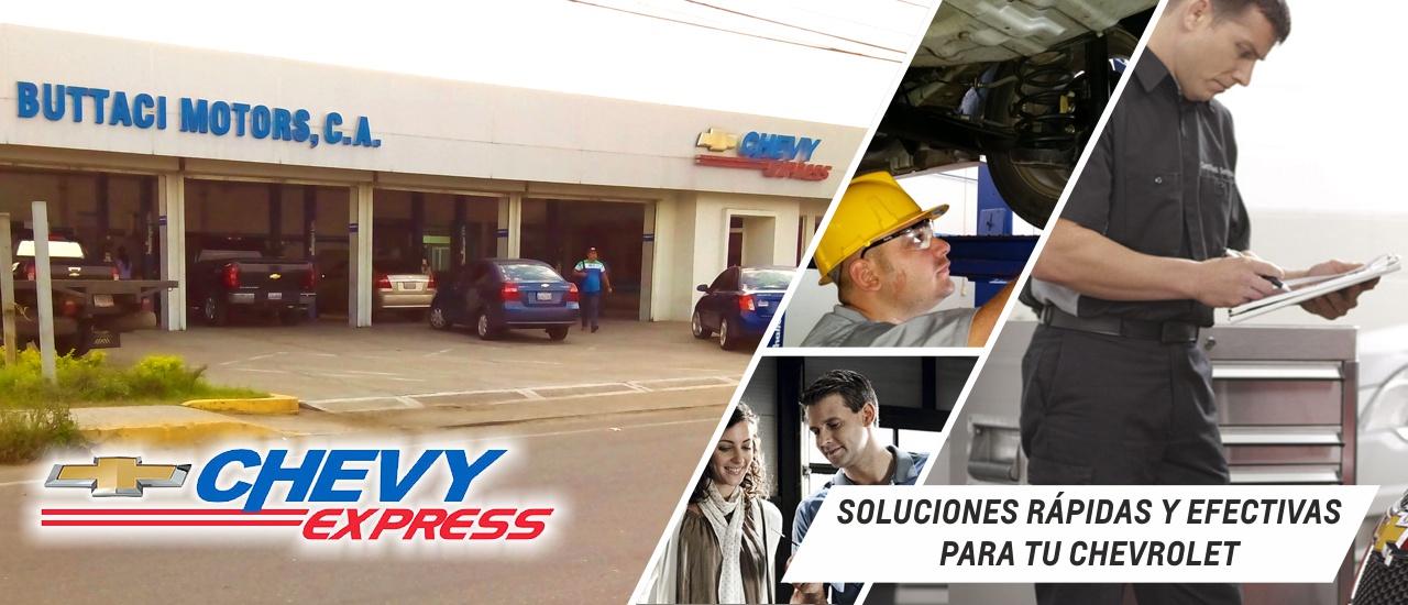 Chevy Express, El Servicio rápido y efectivo de Buttaci Motors C.A.